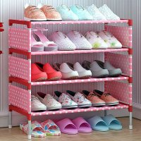 3 Tier Shoe Cabinet Non-woven Shoes Racks Storage Space Saving DIY Shoes Organizer For Living Home Furniture 42.5 x 18.2 cm