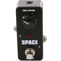Guitar Parts FRB2 Mini Space Reverb Pedal Portable Guitar Effect Pedal External AC adapter delivering 9V DC regulated