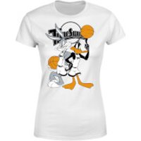 Space Jam Bugs And Daffy Time Squad Women's T-Shirt - White - 5XL - White