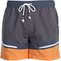 Summer Men Casual Side Pockets Beach Shorts Waistline Lace-up Big Front Space  April New Arrival
